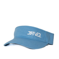 Columbia Blue & White Visor