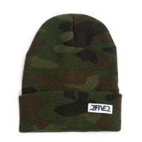 Army Camo Beanie (Small Adult)