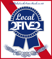 local 2five2 obx sticker