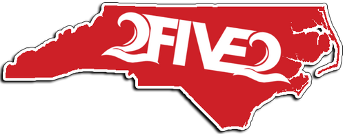 252 red nc state sticker