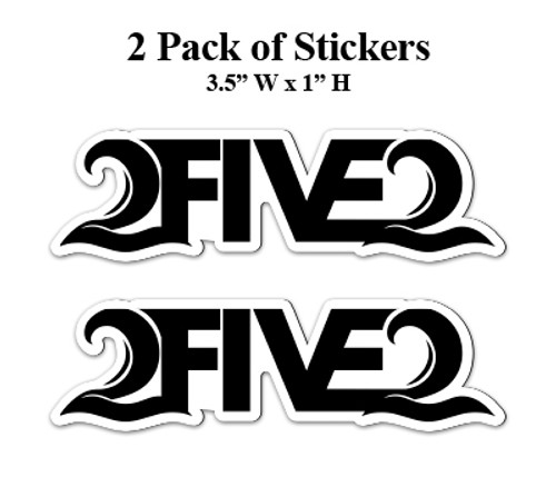 2 pack of 252 stickers