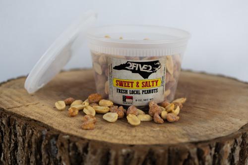 252 nc sweet salty peanuts