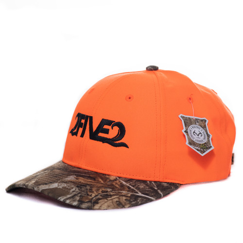 Blaze Orange Crown w/ Realtree Edge Camo