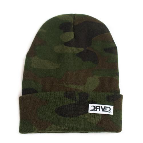 Army Camo Beanie (Small Adult)