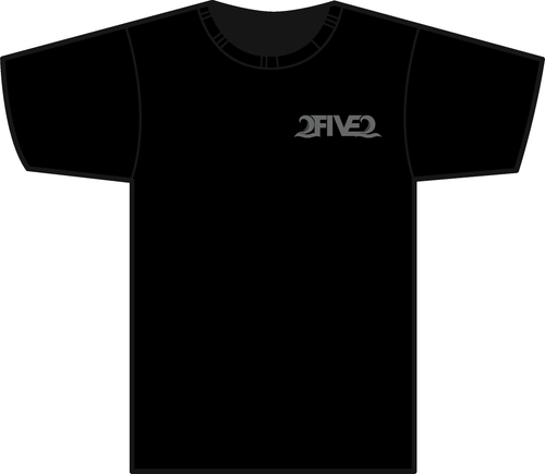 Black 2FIVE2 Racing  Tshirt