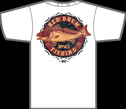 Red Drum Fishing  Tshirt