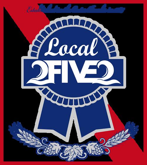 local 2five2 obx sticker