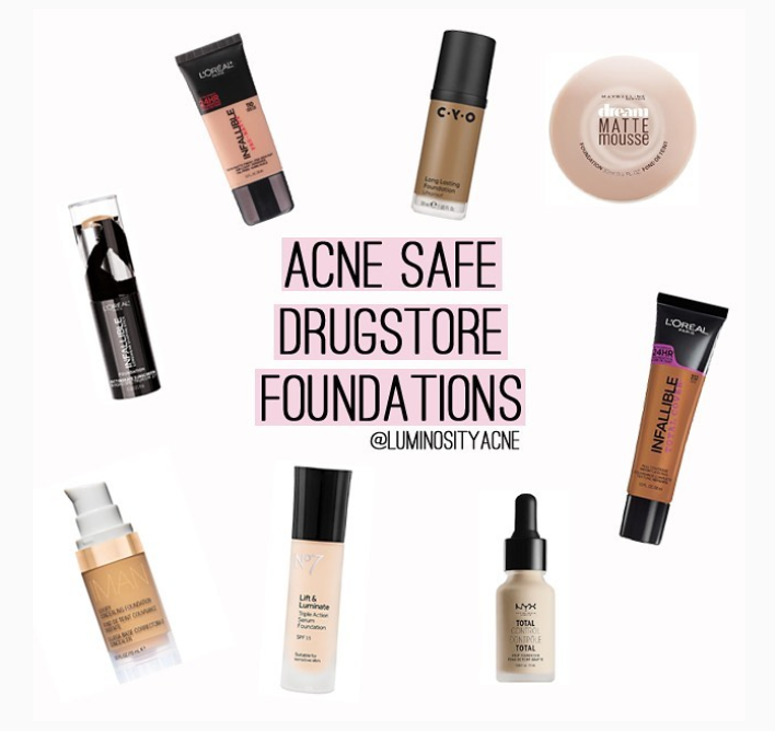 2019 drugstore foundations