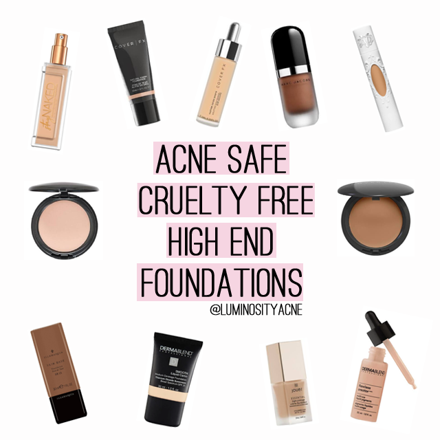 Highend Cruelty Free Foundations