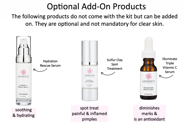 Optional Add On Products