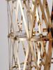 Bethel International  BE26F63G 255-Light LED Floor Lamp Gold