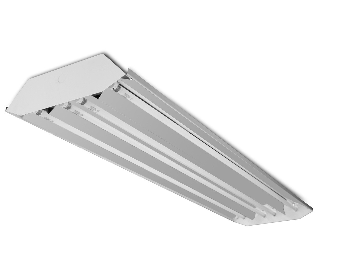 save off deb43 f0cb9 Howard Lighting HFB3E454APSMV000000I 4 Lamp 54W T5 High Bay Fluorescent  Fixture