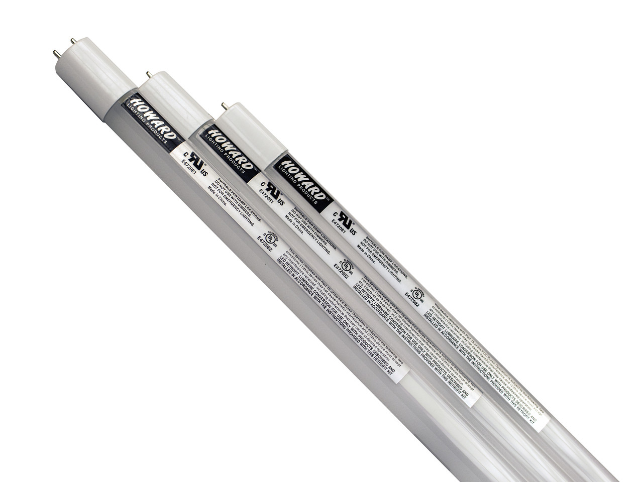 HOWARD LIGHTING F32T8/840LED/12 5/AC LED T8 LINE-V 12 5W LAMP, 840, 120-277V