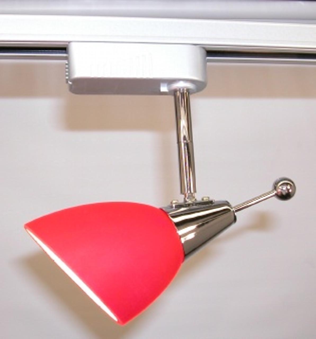 Celebrity Red/Satin MR16 Low Voltage Track Light