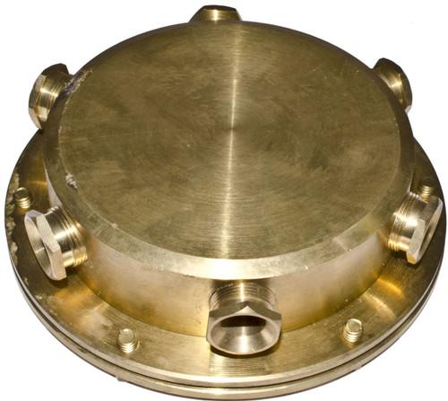 DABMAR LIGHTING UWB-6 Underwater Junction Box, Brass