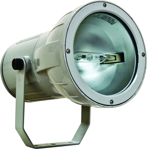 DABMAR LIGHTING DF9700-GRY Powder Coated Cast Aluminum Spot Fixture, Grey