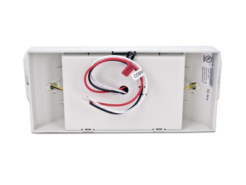 Howard Lighting HL0202L-W Emergency Light, White Case/Housing Adjustable Optics