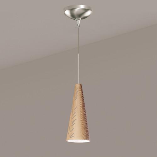 A19 Lighting LVMP04-TN 1-Light Fossil Mini Pendant Tan