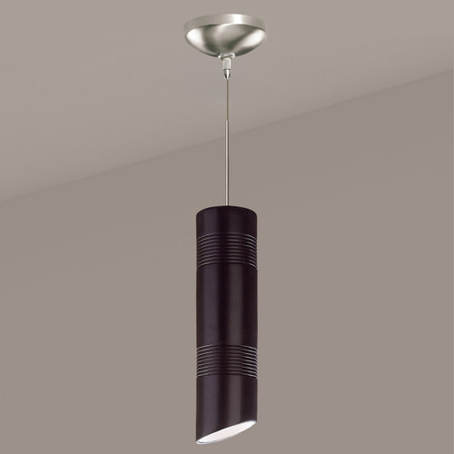A19 Lighting LVMP09-MB 1-Light Raindance Mini Pendant Matte Black