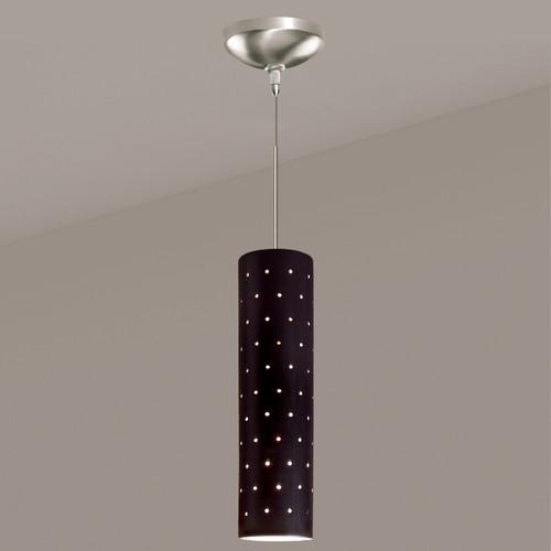 A19 Lighting LVMP11-MB 1-Light Stellar Mini Pendant Matte Black
