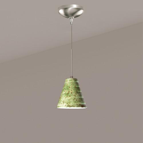 A19 Lighting LVMP12-PS 1-Light Vortex Mini Pendant Pistachio