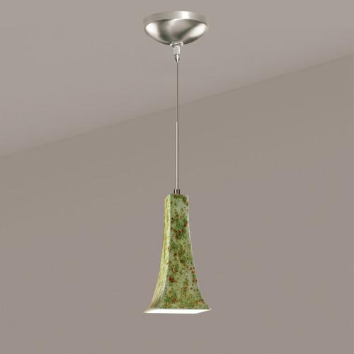 A19 Lighting LVMP14-PS 1-Light Eiffel Mini Pendant Pistachio