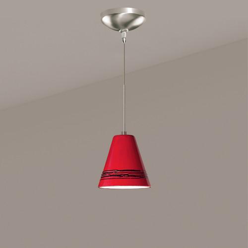 A19 Lighting LVMP15-MR 1-Light Strands Mini Pendant Matador Red