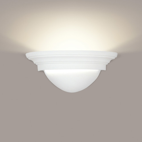 A19 Lighting 101 1-Light Minorca Wall Sconce: Bisque