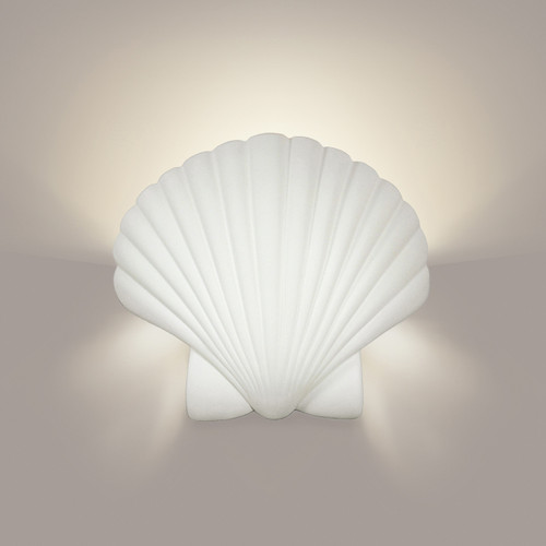 A19 Lighting 1100 1-Light Key Biscayne Wall Sconce: Bisque