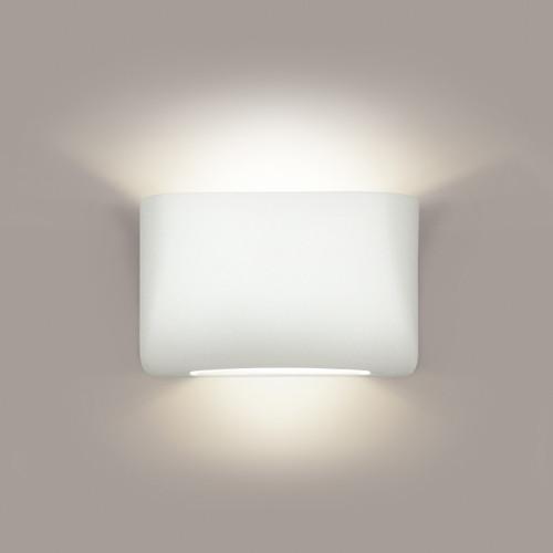 A19 Lighting 1303 1-Light Coronado Wall Sconce: Bisque