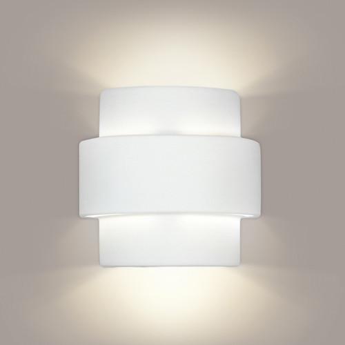 A19 Lighting 1402 1-Light Santa Inez Wall Sconce: Bisque