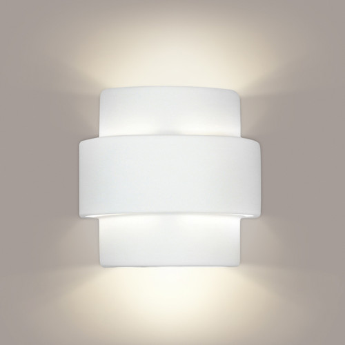 A19 Lighting 1402 1-Light Santa Inez Wall Sconce: Bisque