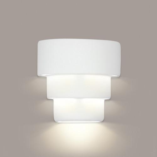 A19 Lighting 1403 1-Light San Jose Downlight Wall Sconce: Bisque