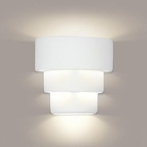 A19 Lighting 1404 1-Light Santa Cruz Wall Sconce: Bisque