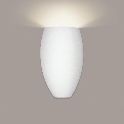 A19 Lighting 1501 1-Light Antigua Wall Sconce: Bisque