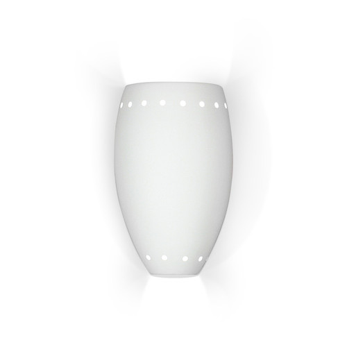 A19 Lighting 1504 1-Light Barbados Wall Sconce: Bisque