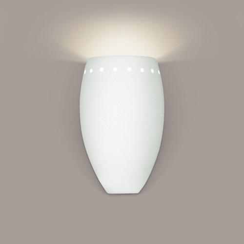 A19 Lighting 1503 1-Light Grenada Wall Sconce: Bisque