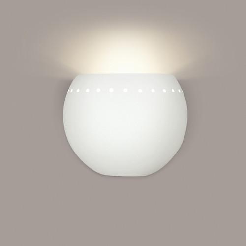 A19 Lighting 1603 1-Light St. Vincent Wall Sconce: Bisque