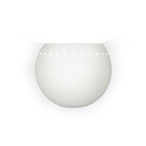 A19 Lighting 1603 1-Light St. Vincent Wall Sconce: Bisque