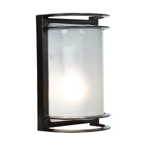 ACCESS LIGHTING 20011MG-BRZ/RFR Nevis 1-Light Marine Grade Wet Location Bulkhead, Bronze