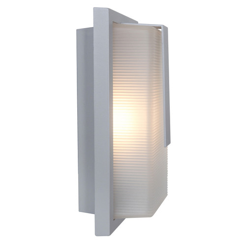ACCESS LIGHTING 20012MG-SAT/RFR Neptune 1-Light Marine Grade Wet Location Wall Fixture, Satin