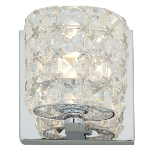 ACCESS LIGHTING 23920LED-CH/CCL Prizm 1-Light Vanity Wall Fixture, Chrome