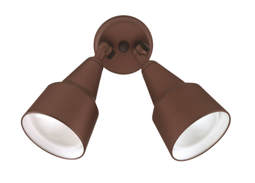 NICOR LIGHTING 11128 150W Bronze Double Cone Shaped Adjustable Flood Light