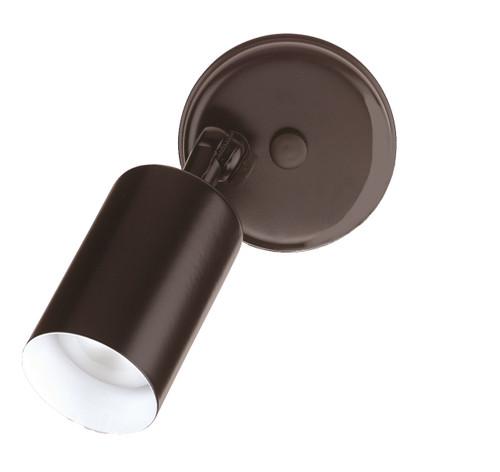 NICOR LIGHTING 11511 50W Black Cylindrical Adjustable Bullet Light