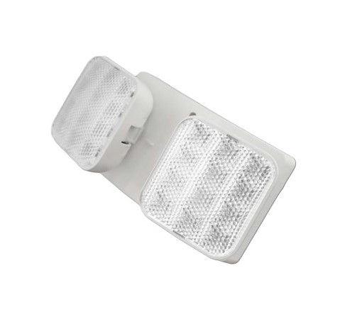 NICOR LIGHTING ERL2-10-WH Emergency LED Remote Dual Head Fixture