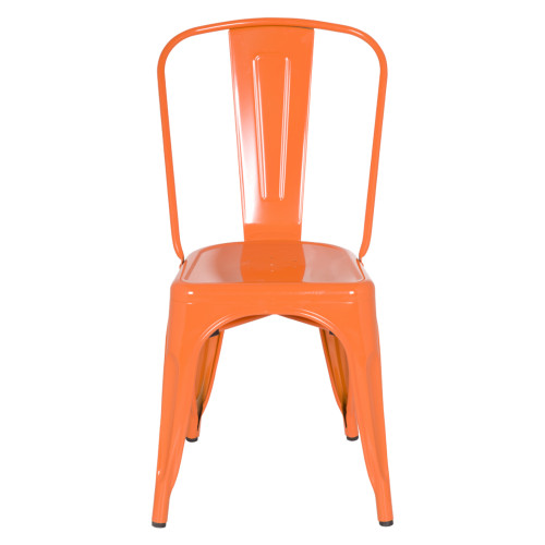 Fine Mod Imports FMI10014-orange Talix Chair, Orange