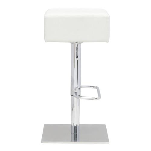 Fine Mod Imports FMI10018-white Marshmallow Bar Stool, White
