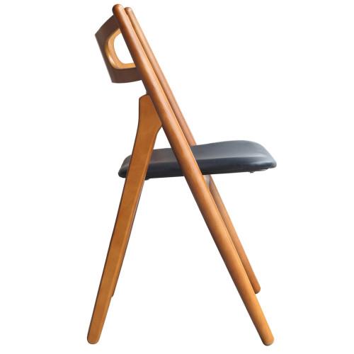Fine Mod Imports FMI10100-walnut Oksana Chair, Walnut