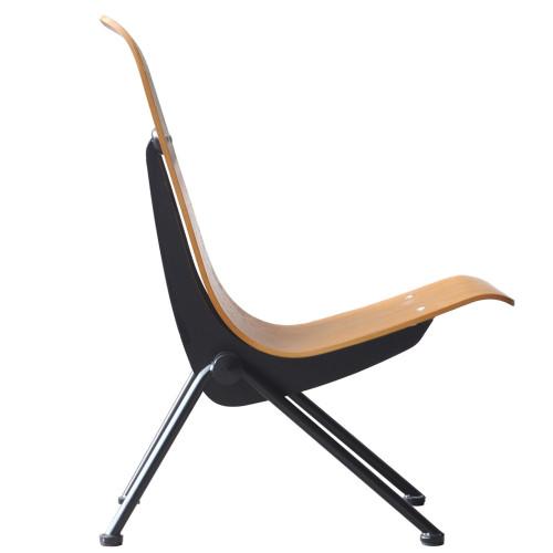 Fine Mod Imports FMI10103-walnut Scolta Dining Side Chair, Walnut