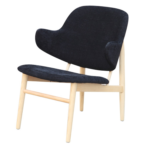 Fine Mod Imports FMI10108-black Atel Lounge Chair, Black